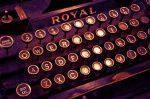 typewriter image