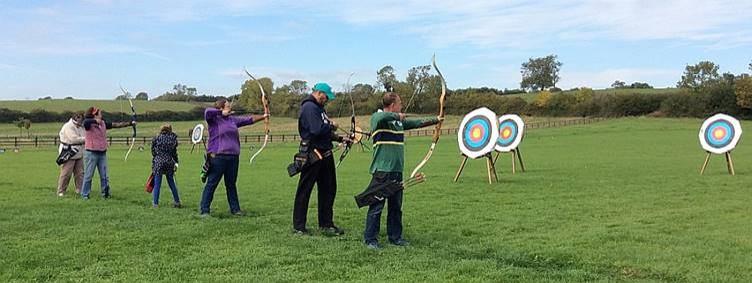 Archery at Phoenix Archers near Kibworth