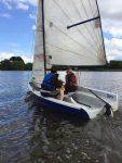 Sailing at Draycote Water