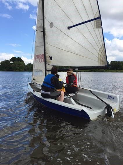 Sailing at Draycote Water May 2018