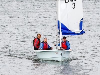 Sailing at Draycote September 2018