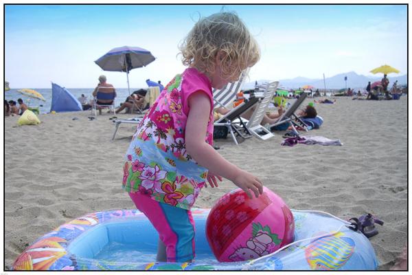 On The Beach - Mandy