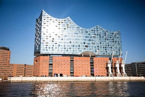 The Elbephilharmonie concert hall in Hamburg